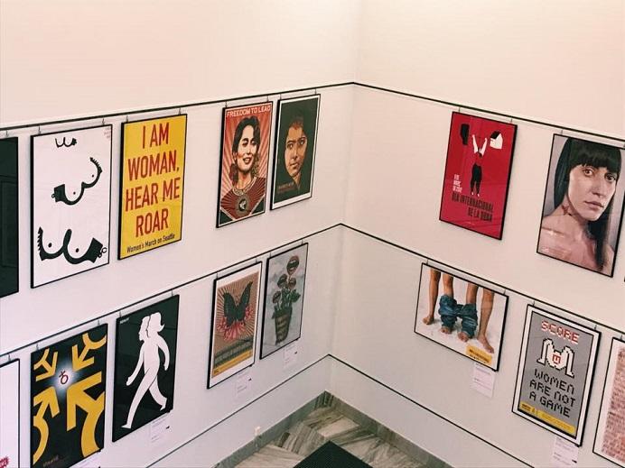 feminist poster warsaw